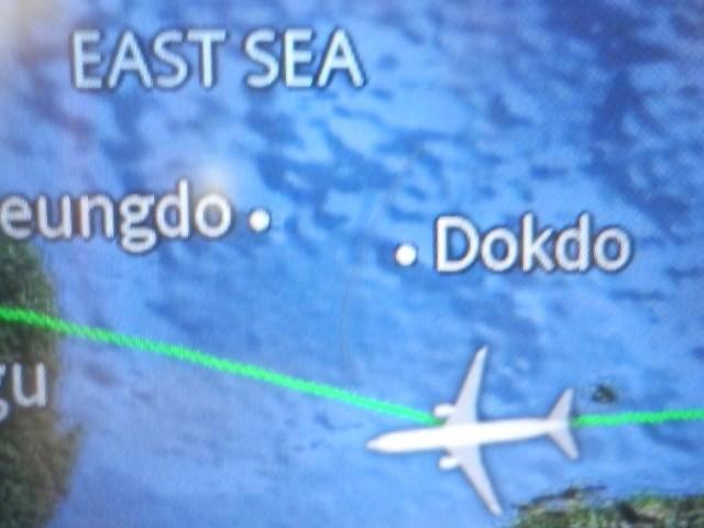 日本海の地図