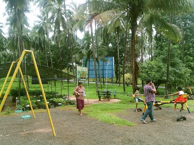 スリランカの公園