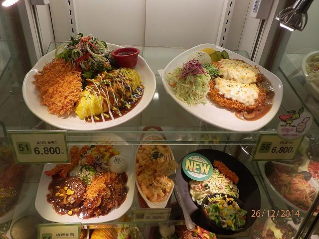 韓国の食品サンプル