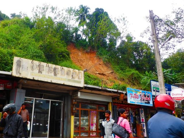 2014年から2015年にスリランカを訪れた時の洪水