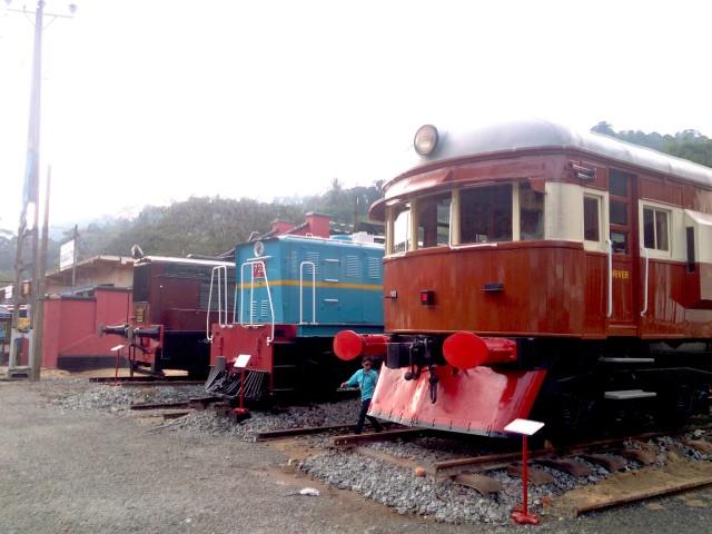 スリランカの鉄道博物館