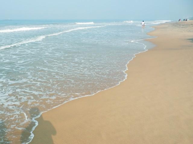 マウントラビニアのビーチ