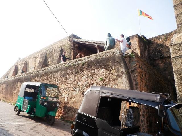 世界遺産都市・ゴールの城壁