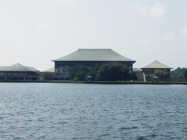 スリランカの国会議事堂